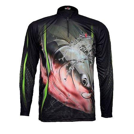 Camisa Com Proteção Pescador Modelo 04