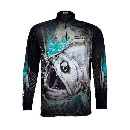Camisa Com Proteção Pescador Modelo 05