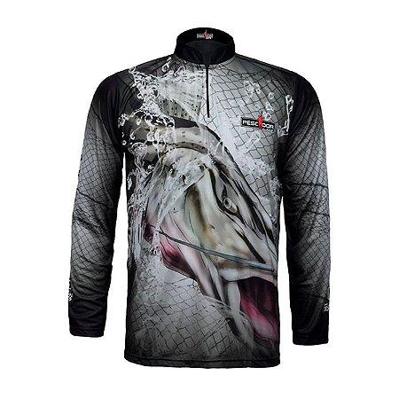 Camisa Com Proteção Pescador Modelo 09