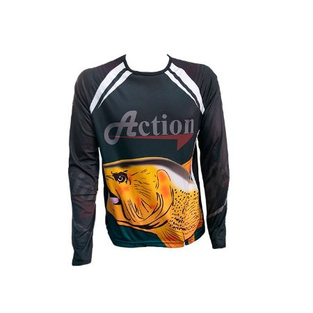 Camisa De Pesca Proteção UV Action- M
