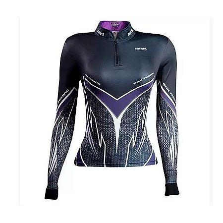 Camisa de Proteção Brk Fem. Purple Viper