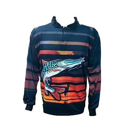 Camisa De Proteção Hiper Pesca Pintado