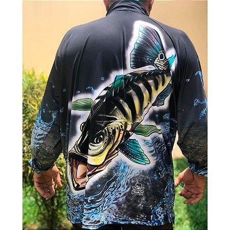 Camisa De Proteção Hiper Pesca Tucunaré Nº6