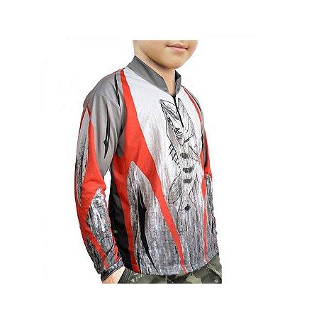 Camiseta C/ Proteção MTK Atack Z Infantil F.35 -Tribal