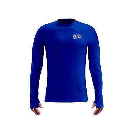 Camiseta De Proteção Mar Negro Mas Poliamida Pesca Roya l