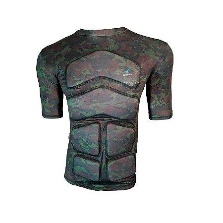 Camiseta Flutuante Mag Curta 75 Kg- Camuflada