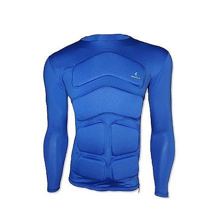Camiseta Flutuante Mag. Longa 120 Kg- Azul Royal