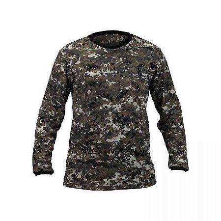 Camiseta Manga Longa Resgate- Força Nacional