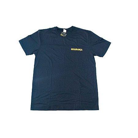 Camiseta Segurança Letras Amarelas