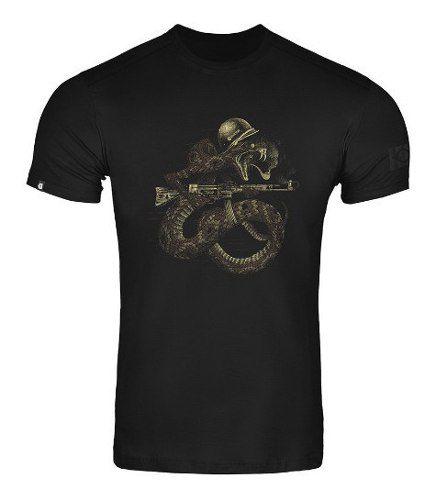 Camiseta T-Shirt Invictus Concept Fumegante