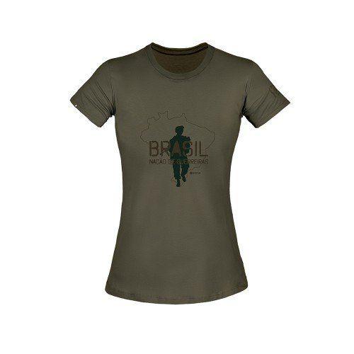 Camiseta T-Shirt Invictus Concept Gigante Fem.
