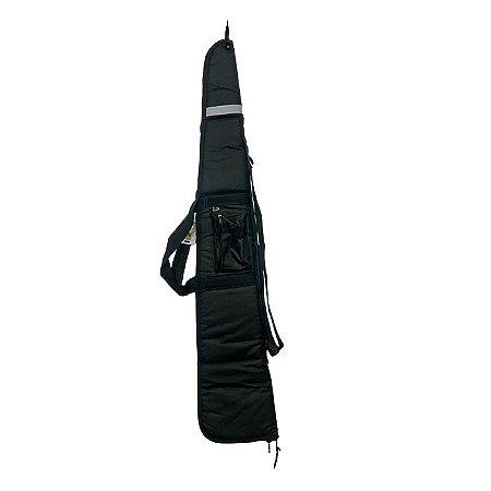 Capa Porta Espingarda e Carabina Fb841 - 1,30m - Preto