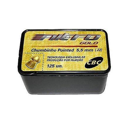Chumbinho Cbc Nitro Gold 5.5MM C/125