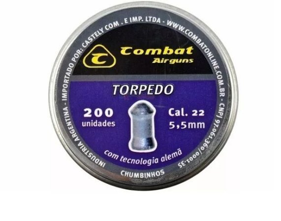 Chumbinho Combat Torpedo 5,5MM