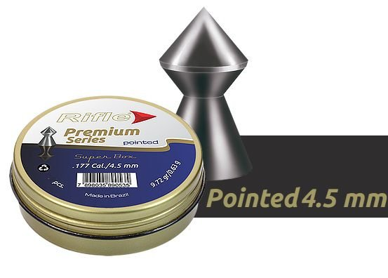 Chumbinho Rifle Premium Pointed 4.5MM C/250