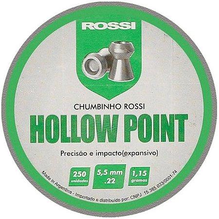 Chumbinho Rossi Hollow Point 5,5MM 250 UN