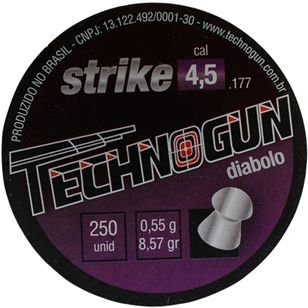 Chumbinho Technogun Strike 4.5MM C/250