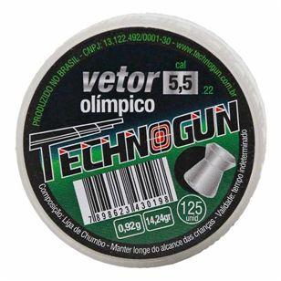 Chumbinho Technogun Vetor 5.5MM C/125