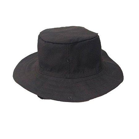 Chapéu Pescador Com Proteção- Preto