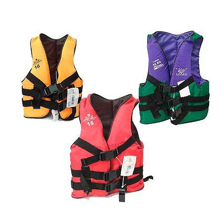 Colete Salva Vidas Hiper Pesca-Colorido
