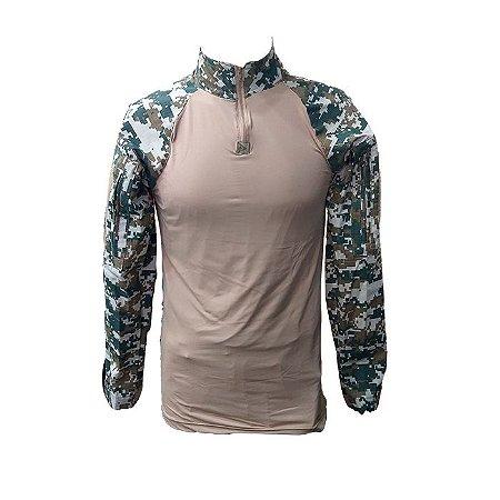Combat Shirt HRT Digital Cerrado