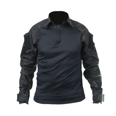 Combat Shirt Raglan -Preto/Multicam Black