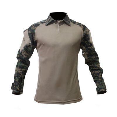 Combat Shirt Raglan Caqui/Marpat