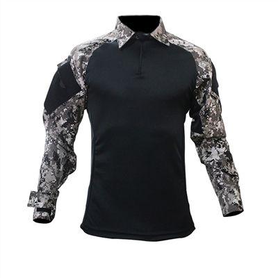 Combat Shirt Raglan- Preto/Força Nacional