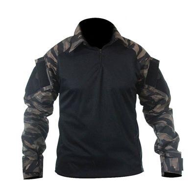 Combat Shirt Raglan- Preto/Tiger