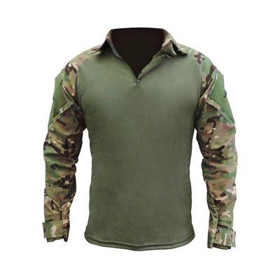 Combat Shirt Raglan- Verde Oliva / Multicam