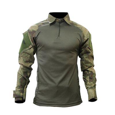 Combat Shirt Raglan- Verde Oliva/ Atacs FG