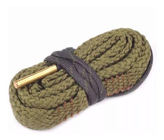 Cordão Limpeza Bore Snake Calibre 38 .380 9mm .357