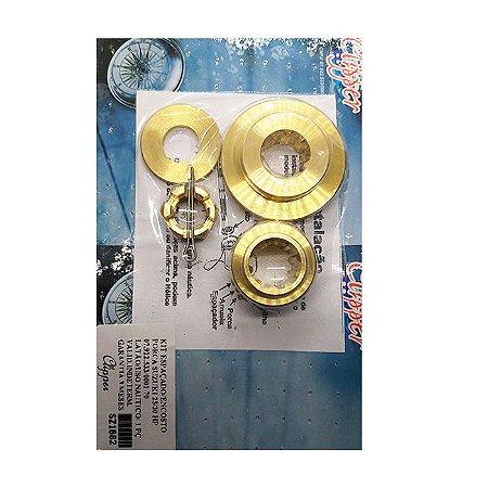 Kit Espaçador /Encosto /Porca Suzuki 25/30 HP