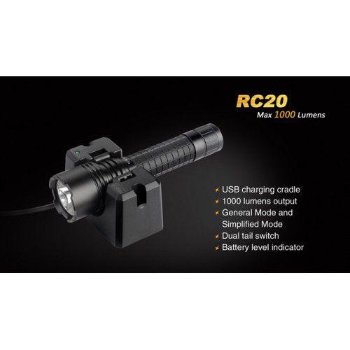 Lanterna Fenix RC20 c/ 1000lm