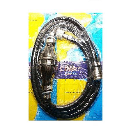 Mangueira de Combustível Comp/Tohatsu Conector Dois Lados