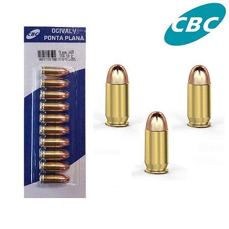 Munição CBC 9mm ETOG 124 gr
