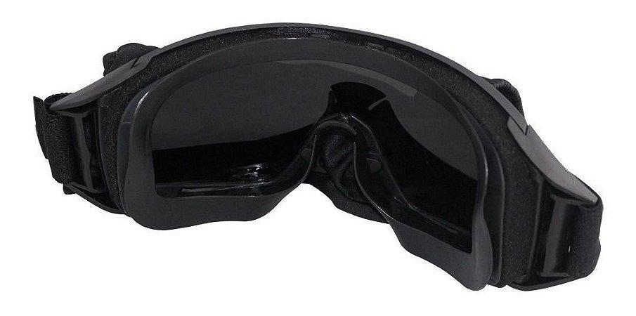 Óculos Tático Multi Nautika -Preto