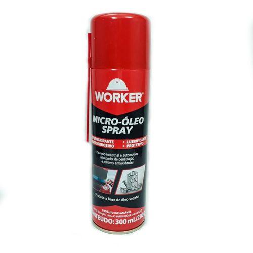 Óleo Desengripante Spray 300ML/200G - Worker