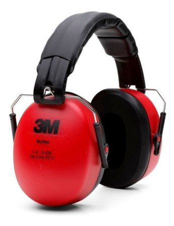 Protetor Auditivo Pomp Muffler Concha - 3M