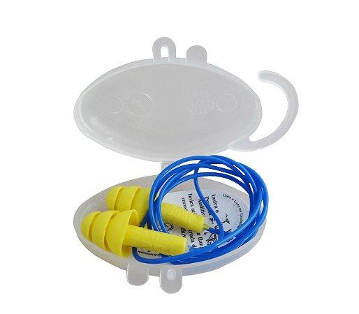 Protetor Auricular Azul E Amarelo Dystray