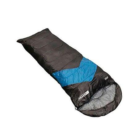 Saco De Dormir Nautika Viper 5ºC a 12ºC -Azul e Preto