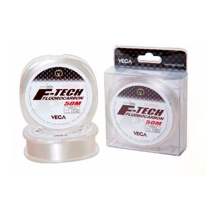 Linha Monofilamento Fluorocarbon Vega F-Tech 50M