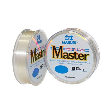 Linha Monofilamento Maruri Master Fluorcarbon 50M