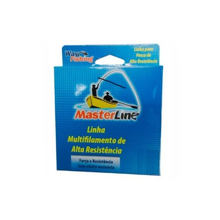 Linha Multifilamento Way Fishing Masterline 300M