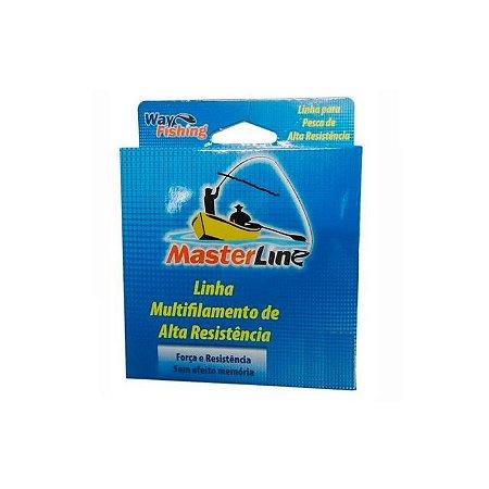Linha Multifilamento Way Fishing Masterline 100M