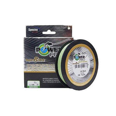 Linha Multifilamento Espectra Power Pro SS 8 135M-Verde