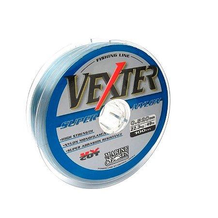 Linha Monofilamento Marine Sports Vexter 100M-Cinza