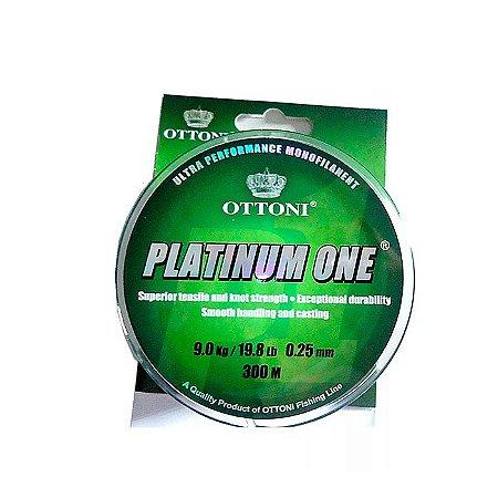Linha Monofilamento Ottoni Platinum One 300M