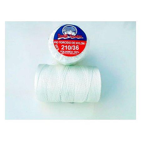 Fio Torcido de Nylon Têxtil Sauter 210/36 BCO PCT 200G