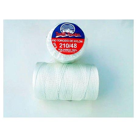 Fio Torcido de Nylon Têxtil Sauter 210/48 BCO PCT 200G